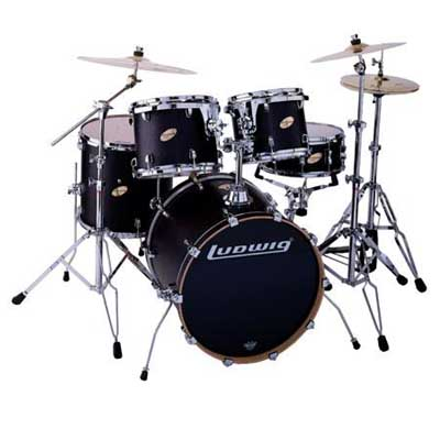 Ludwig Accent CS LC225 (5pc) - Drum Review