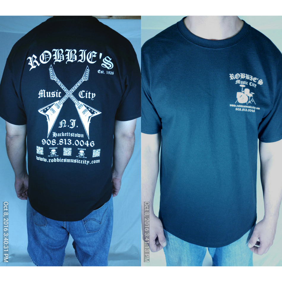 Robbie\'s Music T-Shirt