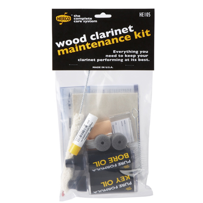 Wood Clarinet Maintenance Kit.
