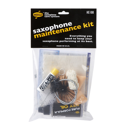 Saxophone Maintenance Kit.