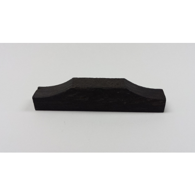 Violin Saddle Blank Semi Shaped.