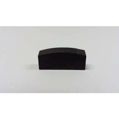 Violin Nut Blank Rounded Top.