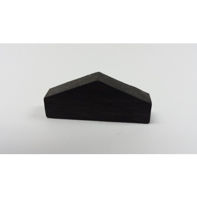 Violin Nut Blank Triangular Top.