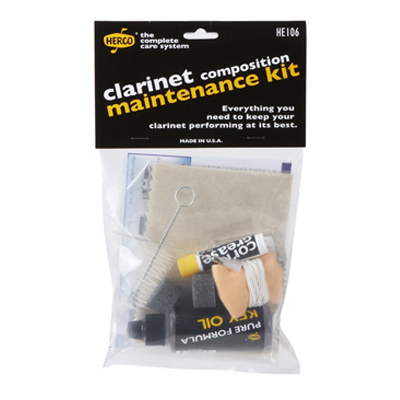 Composition Clarinet Maintenance Kit.
