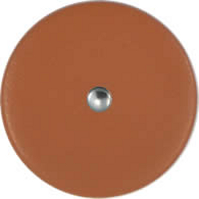 Micro Bass Sax Pads Tan Rivet Soft Back.