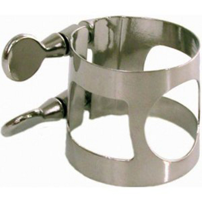 Bass Clarinet Ligature Nickel Plated.
