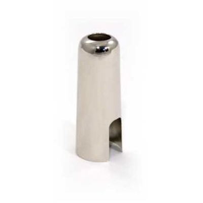 Soprano Sax Mouthpiece Cap Nickel Plated.