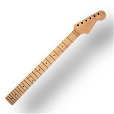 Replacement Guitar Neck With Maple Fretboard.