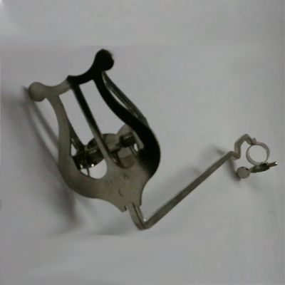 Nickel 1 Piece 9/16 Trombone Lyre.
