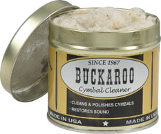 Buckaroo Cymbal Polish Cleaner.