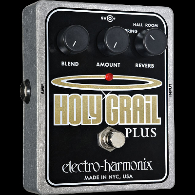 Electro Harmonix Holy Grail Plus Pedal.