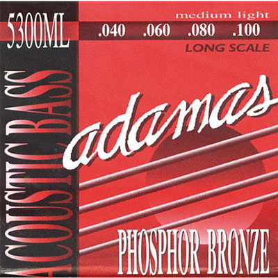 Adamas Med Light 4 String Acoustic Bass Strings.