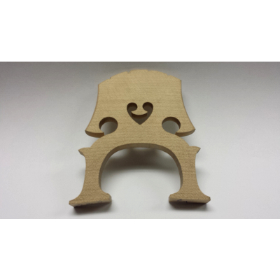 1/2 Size Maple Cello Bridge.