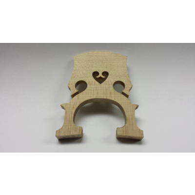 1/8 Size Maple Cello Bridge.