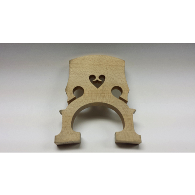 1/4 Size Maple Cello Bridge.