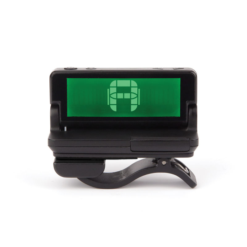 D'Addario Clip-On Headstock Tuner.