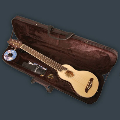 Washburn Rover Travel Guitar.
