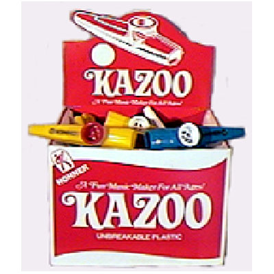 Plastic Kazoo Box of 50.