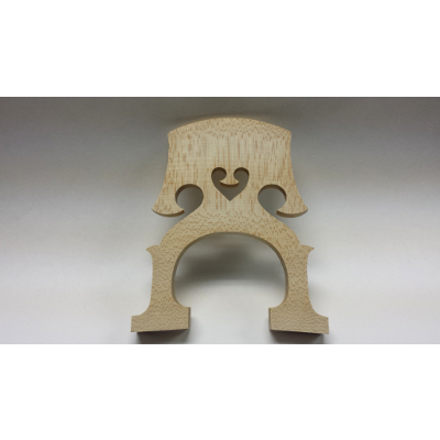 4/4 Size Maple Cello Bridge.