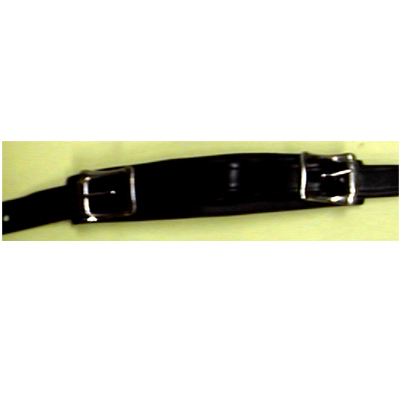 Emergency Handle Leather Buckle Type Black.