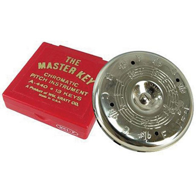 Kratt Chromatic Master Key Pitch Pipe C to C.