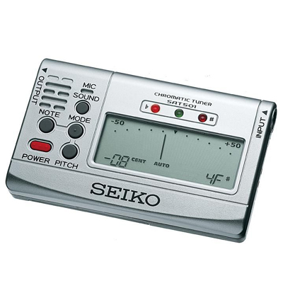 Seiko SAT501 Chromatic Tuner.
