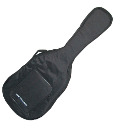 Deluxe padded electric guitar gig bag.