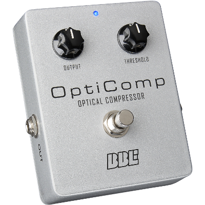 BBE OptiComp Optical Compressor Pedal.
