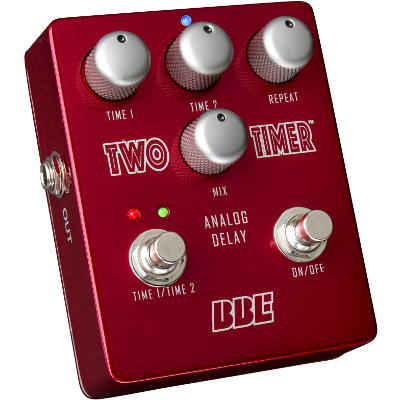 BBE Two Timer Dual-Mode Analog Delay Pedal.