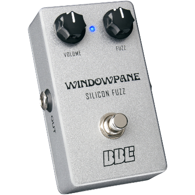 BBE Windowpane Silicon Fuzz Pedal.