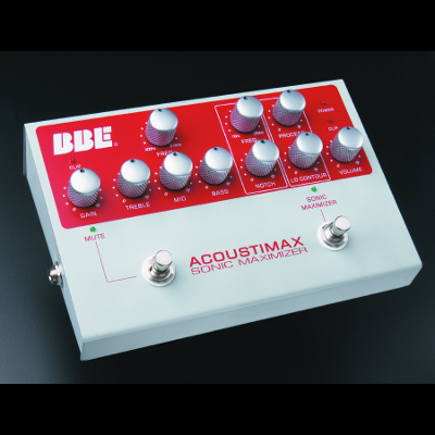 BBE Acousti-Max Preamp Pedal.