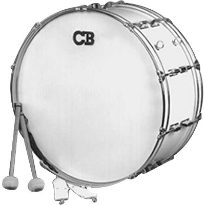 Parade Series 10 x 26 Marching Bass Drum.