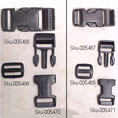 "Quick Clip Male End for 3/4"" Strap."