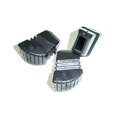 "Cannon Flat Rubber Stand Feet Large Fits 5/8"" x 5/16\""."