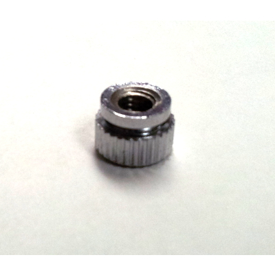 Straight Knurled Thumb Nut/Wheel For Adjusting Pedal Spring.