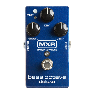 MXR Bass Octave Deluxe Pedal.