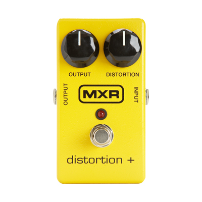 MXR Distortion Plus Pedal.