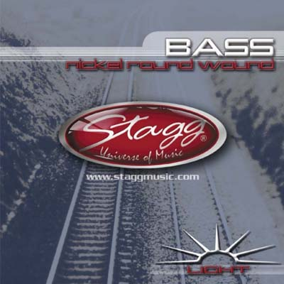 Stagg 4 String Bass String Set.