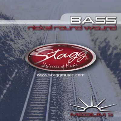 Stagg 5 String Bass String Set.