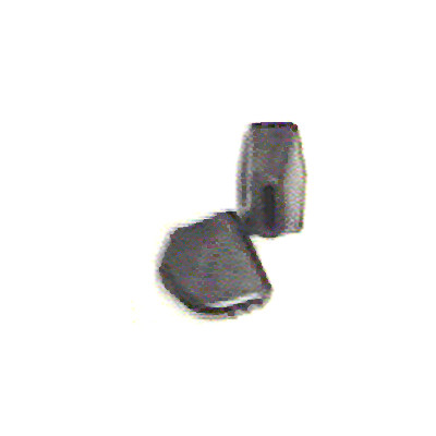 "Flat Rubber Stand Feet Fits 9/16"" x 1/8""."