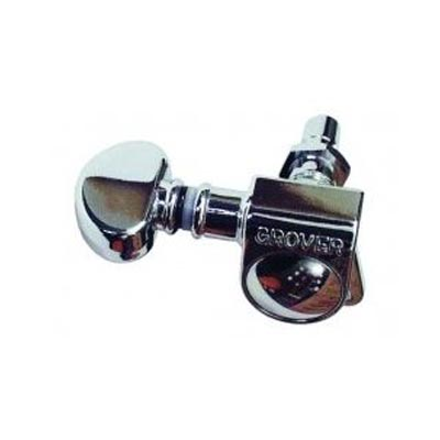 Grover Mini Locking Rotomatic 6 In Line Chrome.