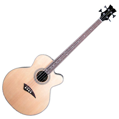 Dean Playmate Acoustic Electric Cutaway Bass.