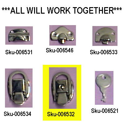 Heavy Duty Latch With Lock.