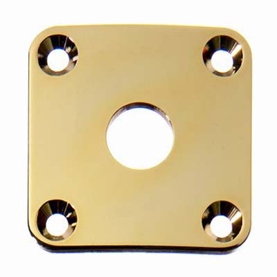 Gold Les Paul Jack Plate.