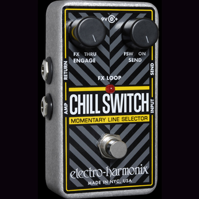 Electro Harmonix Chillswitch Pedal.