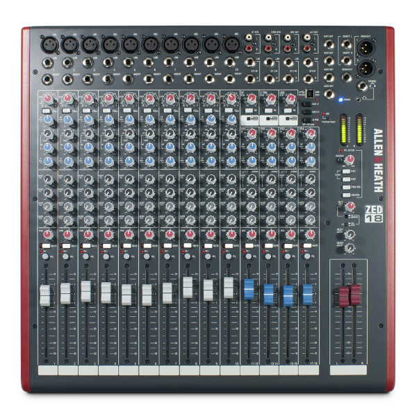 Allen & Heath ZED 18 Mixer.