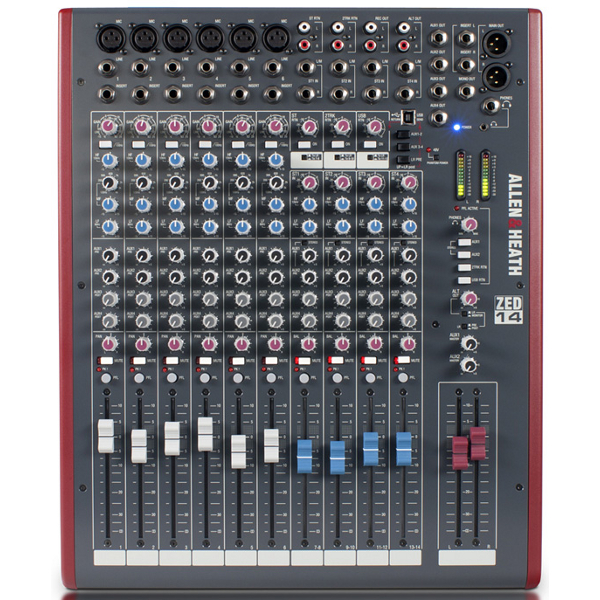 Allen & Heath ZED 14 Mixer.