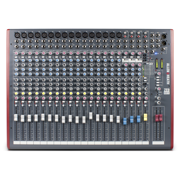 Allen & Heath ZED 22FX Mixer.