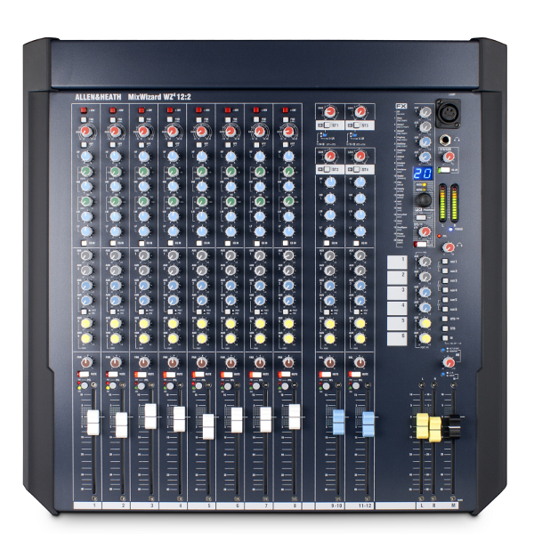 Allen & Heath MixWizard WZ4 12:2 Mixer.
