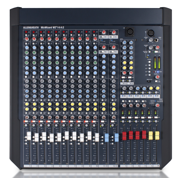 Allen & Heath MixWizard WZ4 14:4:2 Mixer.